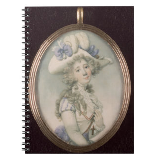 Miniature of an Unknown Woman Notebook