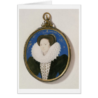 Miniature of Arabella Stuart, Duchess of Lennox, 1 Card