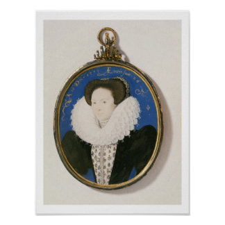Miniature of Arabella Stuart, Duchess of Lennox, 1 Poster