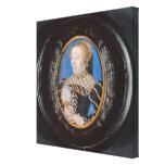 Miniature of Catherine de Medici, c.1555 (w/c on v Canvas Print