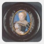 Miniature of Catherine de Medici, c.1555 (w/c on v Sticker