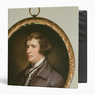 Miniature of Edmund Burke, 1795 Binder