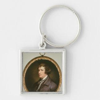 Miniature of Edmund Burke, 1795 Keychain
