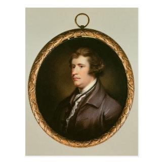Miniature of Edmund Burke, 1795 Postcard