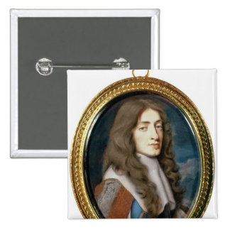 Miniature of James II as the Duke of York, 1661 Button