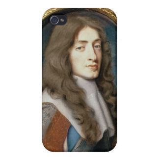 Miniature of James II as the Duke of York, 1661 Cases For iPhone 4