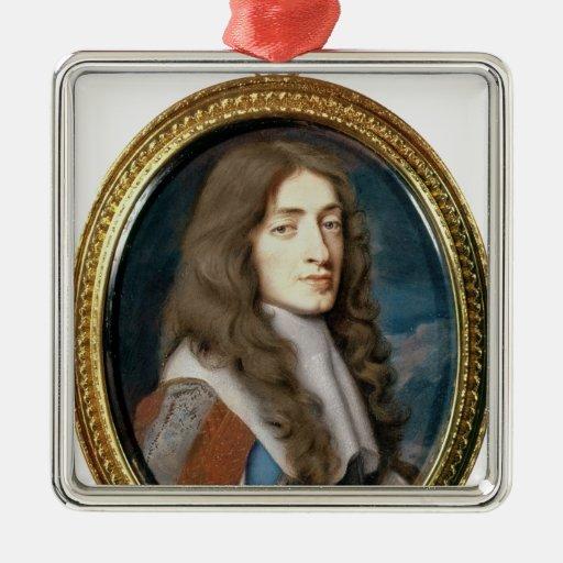 Miniature of James II as the Duke of York, 1661 Ornaments