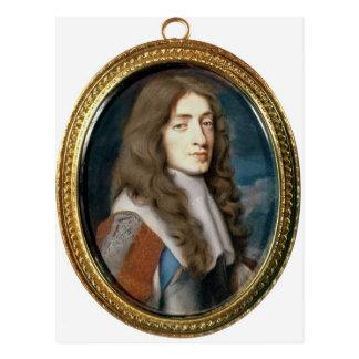 Miniature of James II as the Duke of York, 1661 Postcards
