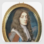 Miniature of James II as the Duke of York, 1661 Stickers