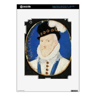 Miniature of Lord Howard of Effingham Skin For iPad 3