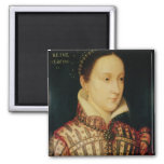Miniature of Mary Queen of Scots, c.1560 2 Inch Square Magnet