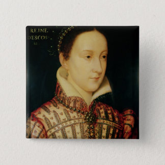 Miniature of Mary Queen of Scots, c.1560 Pinback Button
