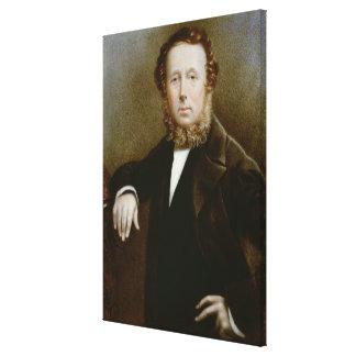 Miniature of Monsieur Tussaud Canvas Print