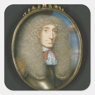 Miniature of Robert Kerr, 4th Earl of Lothian, 166 Square Sticker