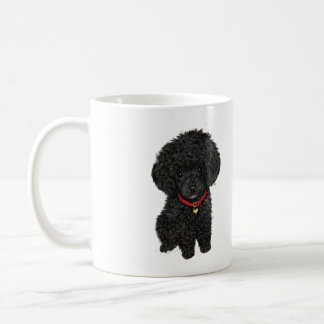 Miniature or Toy Poodle - Black 1 Coffee Mug