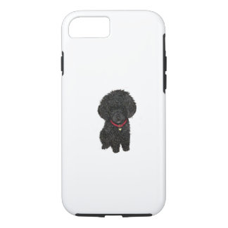 Miniature or Toy Poodle - Black 1 iPhone 7 Case