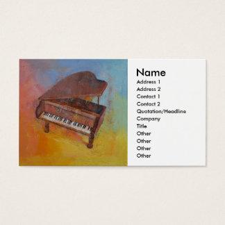 Miniature Piano Business Card