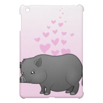 Miniature Pig Love Cover For The iPad Mini