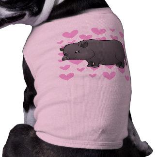 Miniature Pig Love Doggie Tee