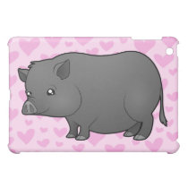 Miniature Pig Love iPad Mini Case