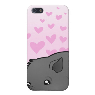 Miniature Pig Love iPhone SE/5/5s Cover