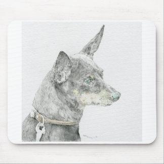 Miniature pin shear mouse pad