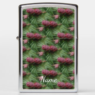 Miniature Pine Cones Personalized Nature Zippo Lighter