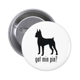 Miniature Pinscher 2 Inch Round Button