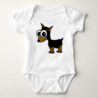 Miniature Pinscher Baby Bodysuit