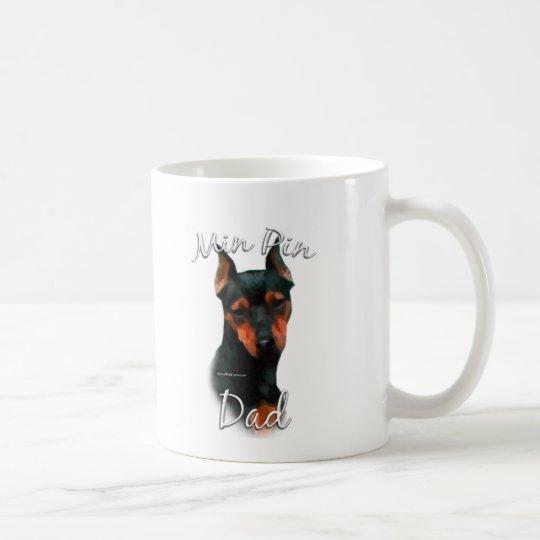 Miniature Pinscher (blk) Dad 2 Coffee Mug