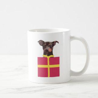Miniature Pinscher Box Coffee Mug