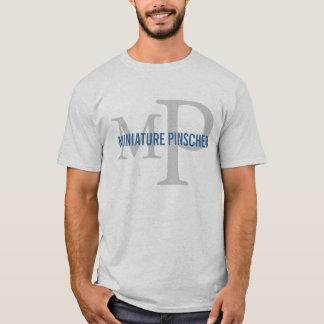 Miniature Pinscher Breed Monogram Design T-Shirt