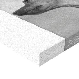 Miniature Pinscher Stretched Canvas Prints