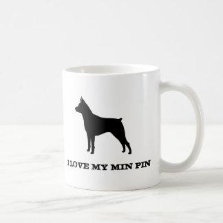 Miniature Pinscher Classic White Coffee Mug