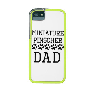 Miniature Pinscher Dad Case For iPhone 5/5S