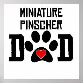 Miniature Pinscher Dad Print