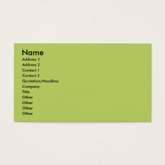 Miniature Pinscher - Elroy Business Card
