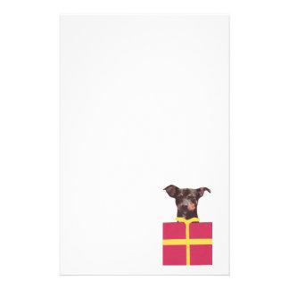Miniature Pinscher Gift Box Stationery