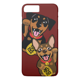 Miniature Pinscher Good Luck iPhone Case