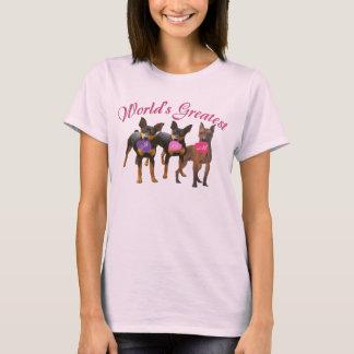Miniature Pinscher Greatest MOM T-Shirt