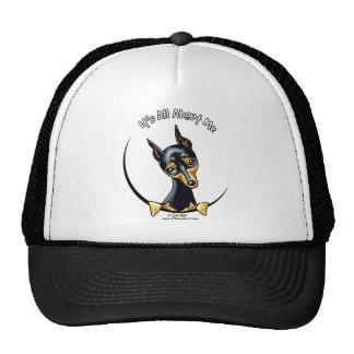 Miniature Pinscher IAAM Trucker Hat