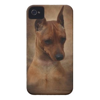 Miniature Pinscher iPhone 4 Case