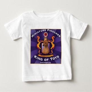 Miniature Pinscher, King of Toys Baby T-Shirt