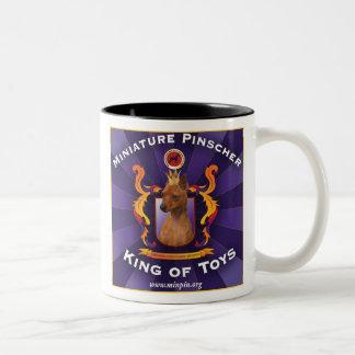 Miniature Pinscher, King of Toys Mug