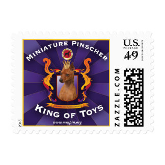 Miniature Pinscher, King of Toys Postage