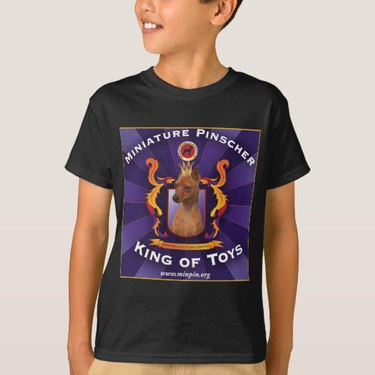 Miniature Pinscher, King of Toys T-Shirt