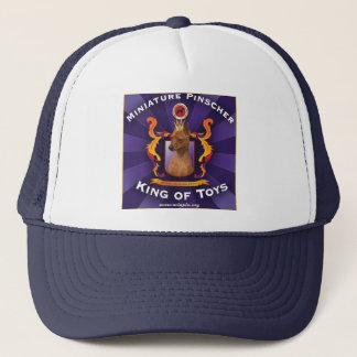 Miniature Pinscher, King of Toys Trucker Hat