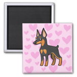 Miniature Pinscher / Manchester Terrier Love Magnets