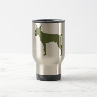 Miniature Pinscher 15 Oz Stainless Steel Travel Mug