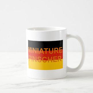 miniature pinscher name germany-flag coffee mug